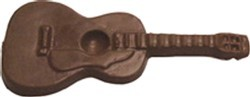 Chocolate Guitar LG - Click Image to Close