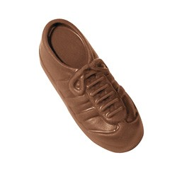 1 oz Custom Chocolate Sneaker or Running Shoe