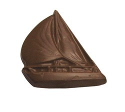 Chocolate Sailboat Large