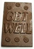 Chocolate Get Well XL Bar