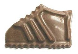 Chocolate Tennis Shoe Short/Fat