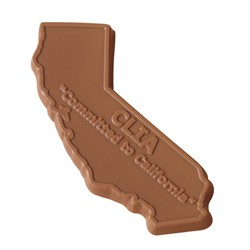 1 oz. Custom Chocolate State Cutout