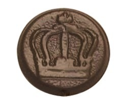 Chocolate Crown Round - Click Image to Close