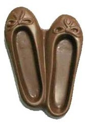 Chocolate Ballet Slipper XL Pair