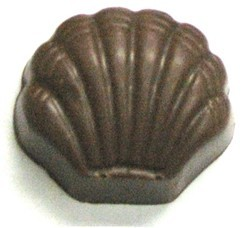 Chocolate Clam Shell Small Thick - Click Image to Close
