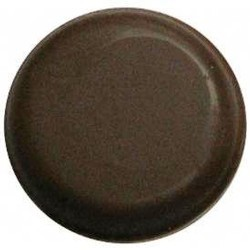 Chocolate Circle Plain Small Thin