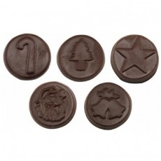 Chocolate Christmas Coins - Click Image to Close