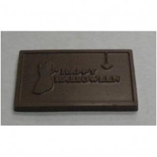 Happy Halloween Chocolate Business Card