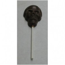 Chocolate Skull on a Stick