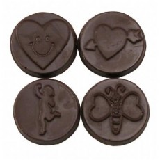 Chocolate Valentine's Day Coins - Click Image to Close