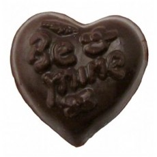 "Chocolate Heart Small ""Be Mine"" - Click Image to Close"
