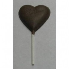 "Chocolate Heart on a Stick ""To My Valentine"""