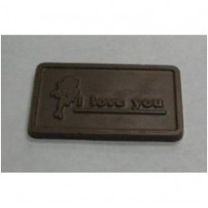 I Love You Chocolate Business Card - Click Image to Close