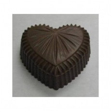Chocolate Heart Box Large Star Burst