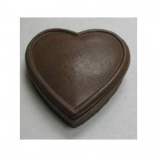 Chocolate Heart Box Large Plain - Click Image to Close