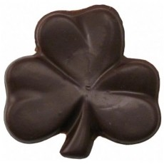 Chocolate Shamrock Large Flat