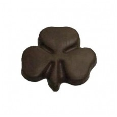 Chocolate Shamrock on a Stick Medium - Click Image to Close