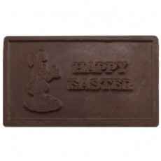 Happy Easter Chocolate Business Card with Bunny
