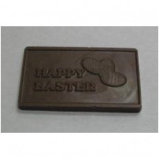 Happy Easter Chocolate Business Card with Eggs