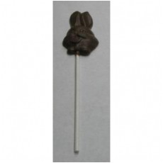 Chocolate Easter Bunny on a Stick