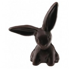 Chocolate Bunny Small Floppy Ear 3D
