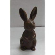 Chocolate Bunny Perched up 3D