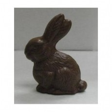 Chocolate Bunny Detailed Sitting 3D