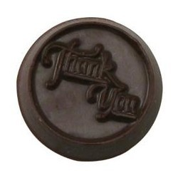 Chocolate Thank You Round Medium
