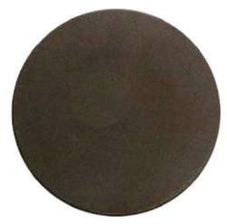 Chocolate Circle Plain Medium
