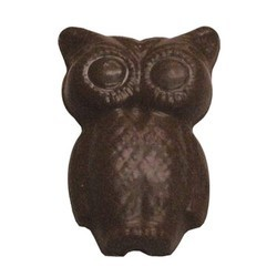 Chocolate Owl on a Stick - Click Image to Close