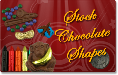 Stock Chocolate Shapes