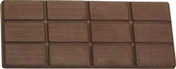 Chocolate Candy Bar Breakaway 12 pc (3X4)