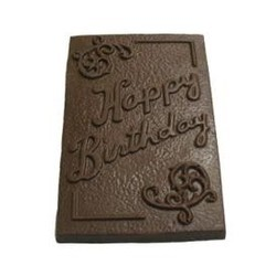 Chocolate Happy Birthday XLG Bar