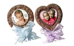 Chocolate Image Lollipops-Jumbo - Click Image to Close