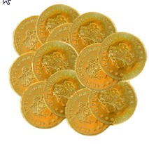 Chocolate Gold Dollars (Box of 465)